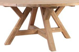 подстолья из дерева для круглых столов
