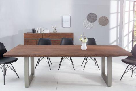 большой обеденный стол лофт