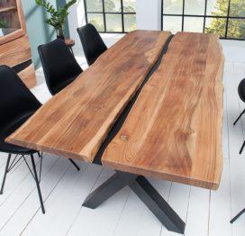 большой стол из слэба обеденный