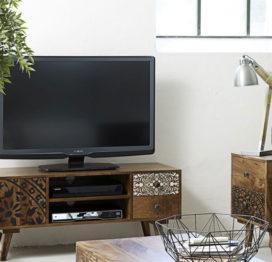 деревянная тумба под телевизор