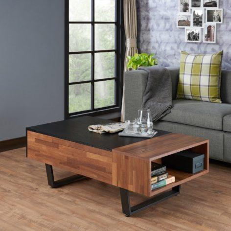 деревянный журнальный стол