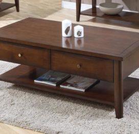 деревянный журнальный стол для гостинной