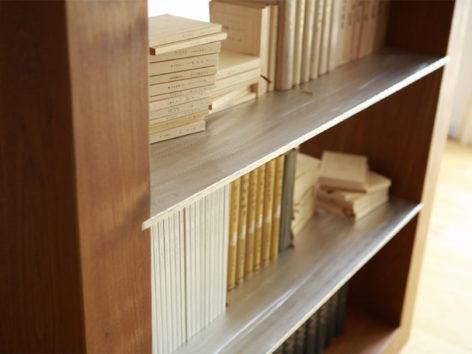 деревянный стеллаж на заказ