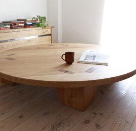 кофейный стол из дуба