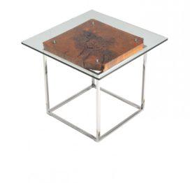 кофейный стол со стеклом