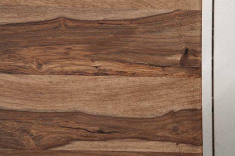 кофейный стол из дерева и металла лофт