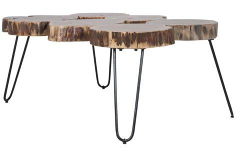 кофейный столик из спилов