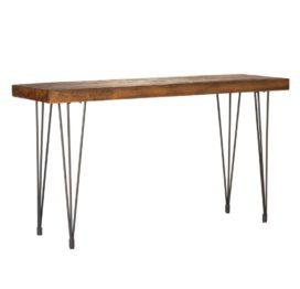 консольный стол из массива