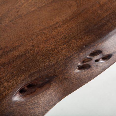 консольный стол из ореха