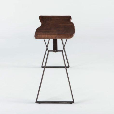 консольный стол из слэбов