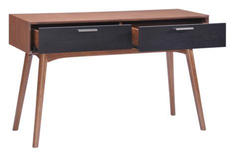 консольный стол с полками