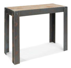 консольный стол в стиле лофт