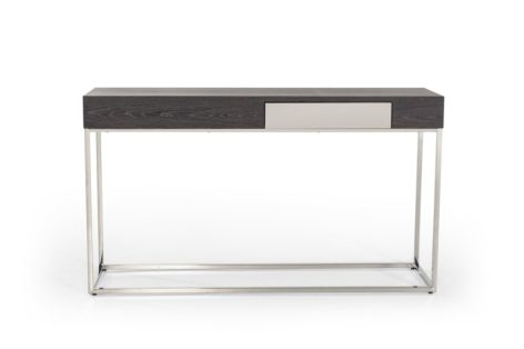 консольный стол цвет венге