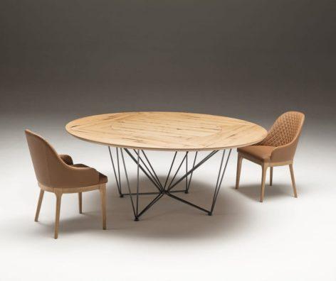 круглый стол большой