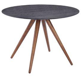 круглый стол обеденный из дерева