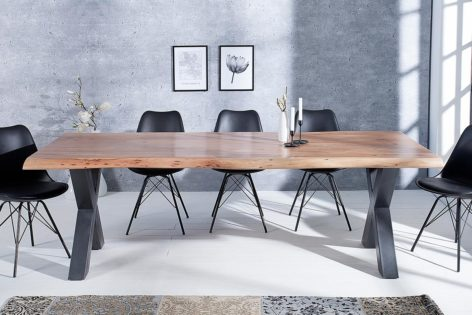 обеденный стол лофт