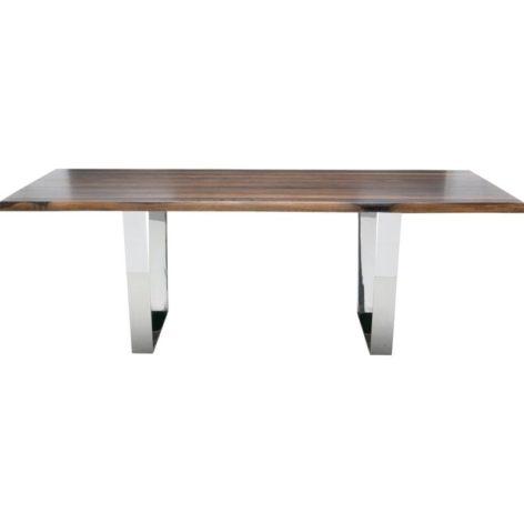 обеденный стол темный