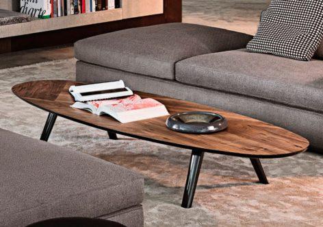 овальный кофейный стол