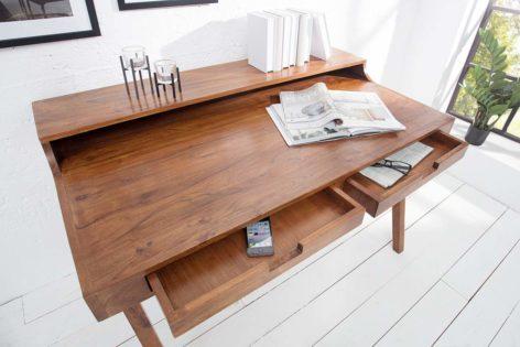 письменный стол из дуба