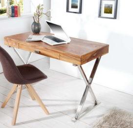 письменный стол из массива дерева