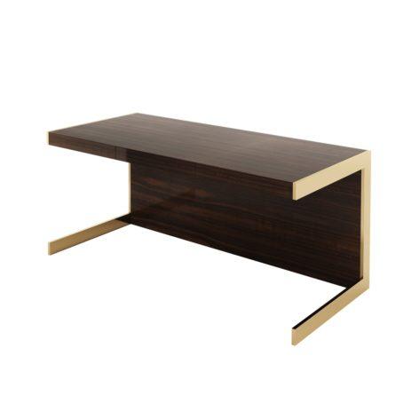 письменный стол темный