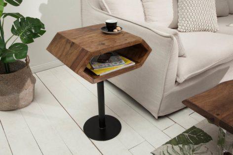 прикроватный столик в стиле лофт