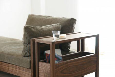 прикроватный столик в стиле модерн