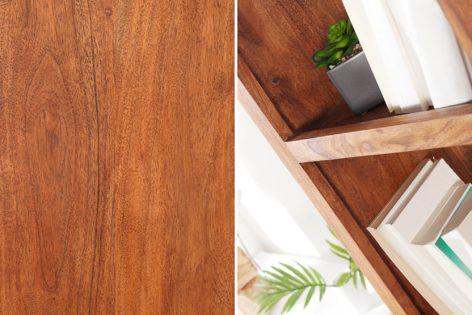 стеллаж из дерева для дома