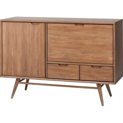 стильный деревянный комод