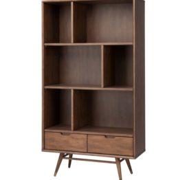 стильный деревянный шкаф