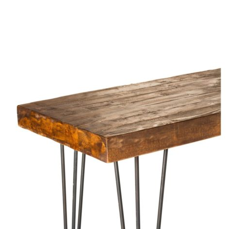 стильный консольный стол