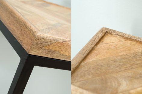стол консоль из дерева