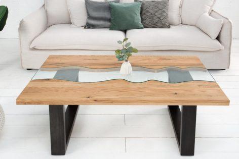стол река из слэбов дерева