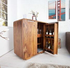 тумба из дерева для вина