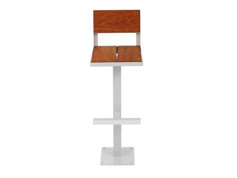 белый стул для бара