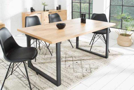 большой обеденный стол в стиле лофт