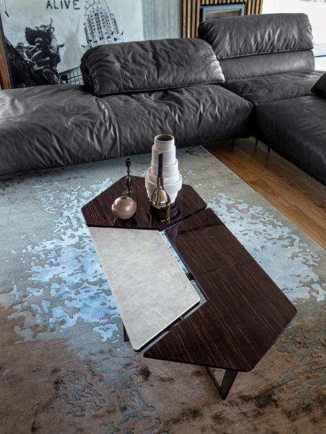 большой стильный кофейный столик