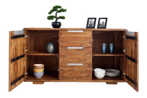 деревянный большой комод
