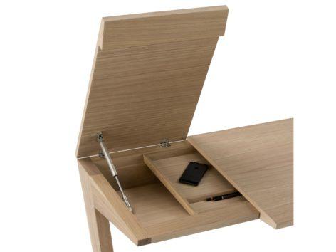 деревянный письменный стол в комнату