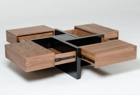 журнальный стол с ящиками