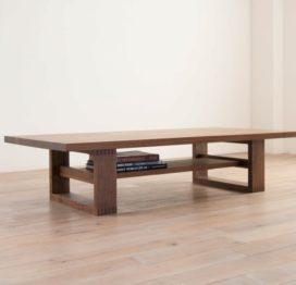 кофейный стол деревянный