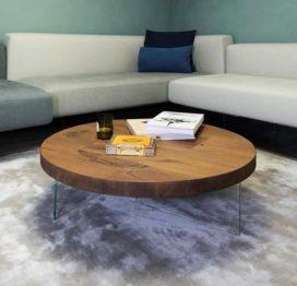 кофейный стол из массива