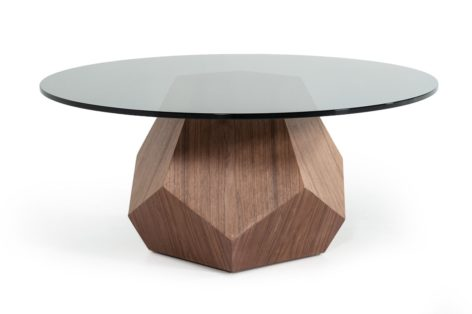 кофейный стол из стекла