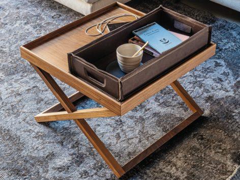 кофейный стол в стиле лофт