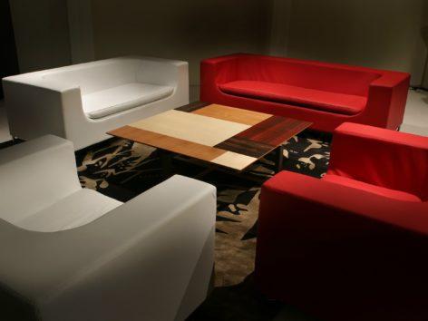 кофейный столик цветной