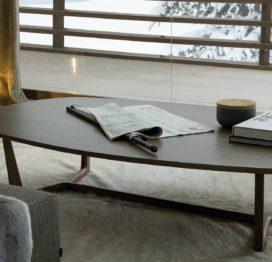 кофейный столик длинный