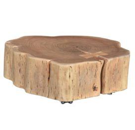 кофейный столик на колесах
