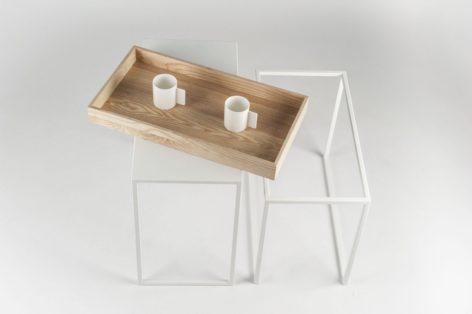 кофейный столик с подносом