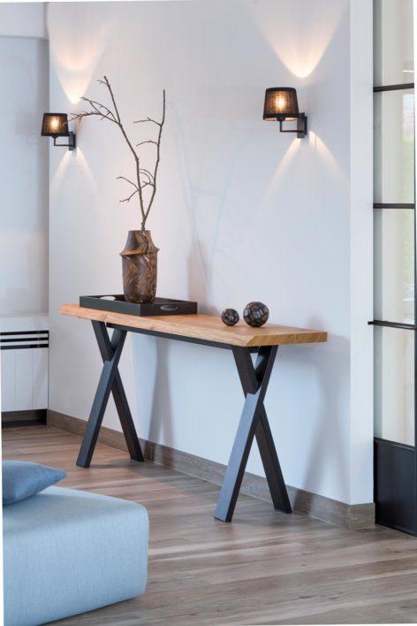 консольный стол лофт