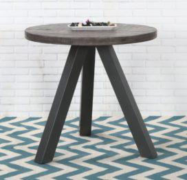 круглый кофейный стол приставной